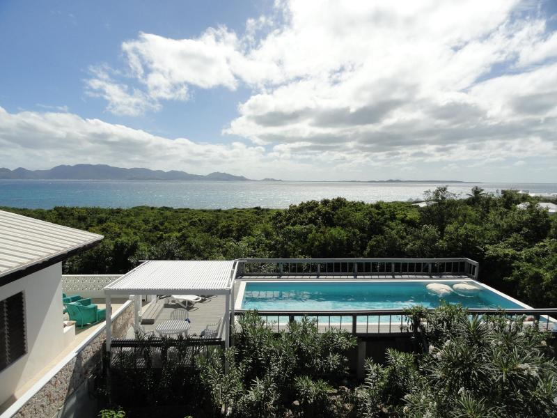 Pool view from rooftop garden - Villa Fay Perfect getaway for couples or families - Anguilla - rentals