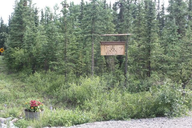 Driveway - Denali Woods Lodge - Healy - rentals