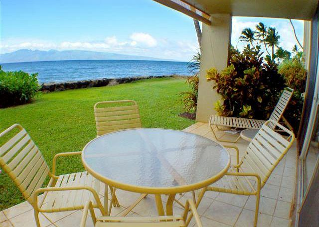 Nohonani #105 Direct Oceanfront Ground Floor - Image 1 - Lahaina - rentals
