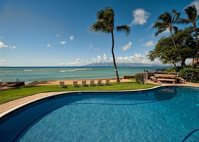 Oceanfront Condo on Small Property. Quiet - Image 1 - Lahaina - rentals