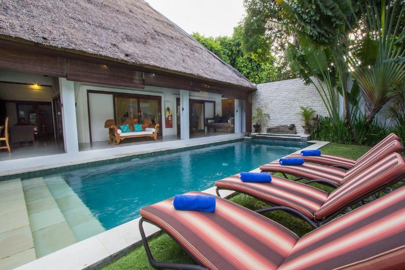 Swimming pool - Villa Kamboja Junior, 2 bdr  POOL FENCE YES OR NO - Legian - rentals