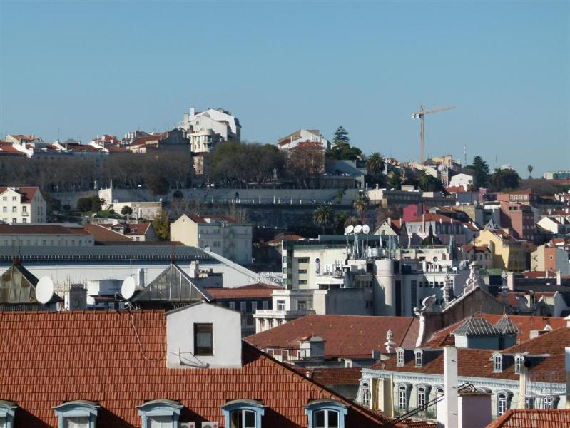 View from the balcony - Apartment in the center of the Fado capital - Lisbon - rentals