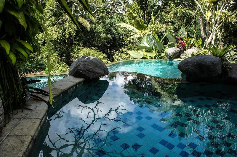 upper wading pool - Villa Madu - Secluded Paradise 5 min Walk to Ubud - Ubud - rentals