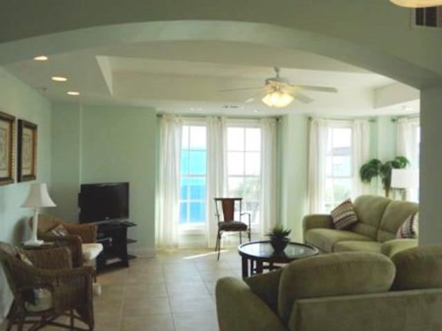 Livingroom - Pier Walk C -prices listed may not be accurate - Tybee Island - rentals