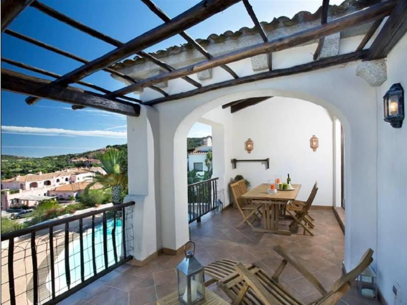 terrace sea view - Luxury Apartment  with swimmingpool  - Porto Cervo - Sardinia - Porto Cervo - rentals