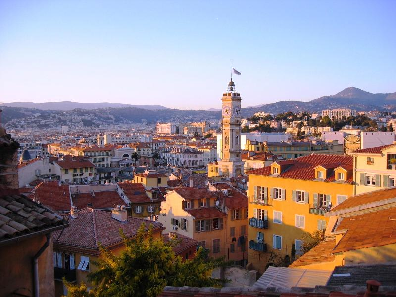 view from living room - Charming 2 Bedroom Flat at the Old Town of Nice  -Vieux Nice - Nice - rentals