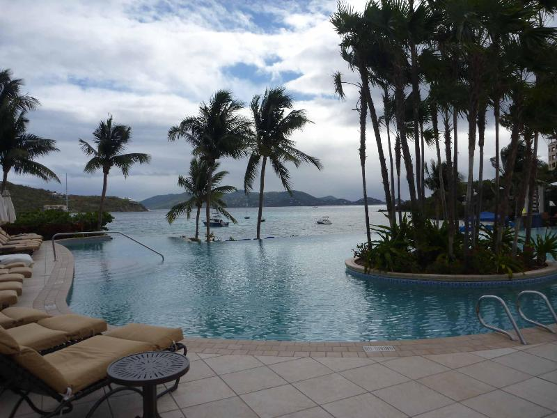 Infinity Edge Pool Overlooking Great Bay - Ritz Carlton Oceanfront - 2 BR Available All Year - Saint Thomas - rentals