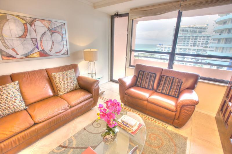 One bedroom Condo, Oceanfront Resort -1203 - Image 1 - Miami Beach - rentals
