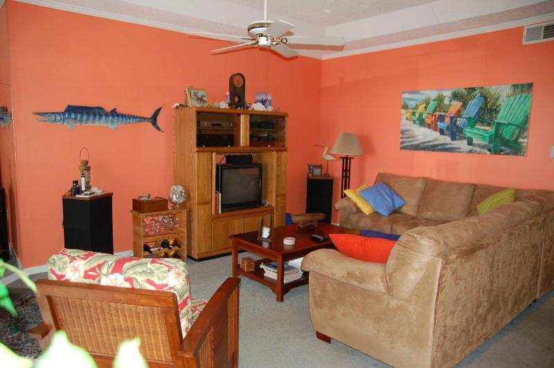 Living room. - Our Place at the Beach-Fall dates available - Ocean City - rentals