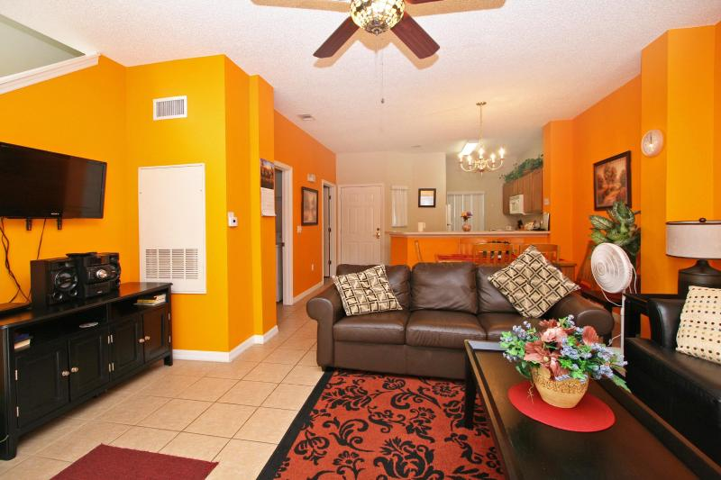Living Room - Luxury Townhome at Emerald Island (Disney Orlando) - Kissimmee - rentals