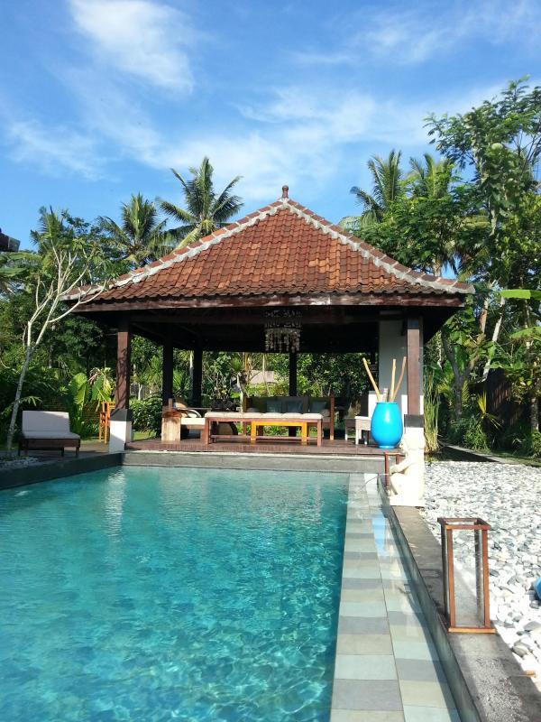 pool and gazebo - Villa Padi - Pakem, yogyakarta - Yogyakarta - rentals