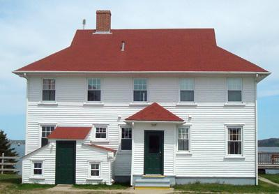 The Station House - Station House  Easternmost Quoddy Head, ex-USCG - Lubec - rentals