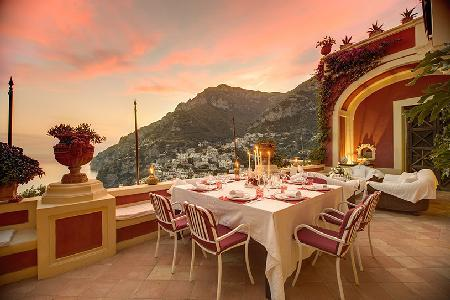Luxurious Villa Dorata - Enjoy the Sea-View Terrace & Rare Full-Service Private Spa - Image 1 - Positano - rentals
