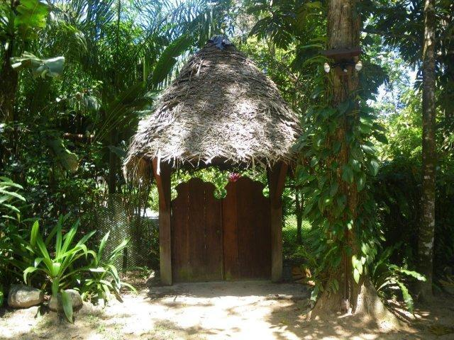 Entrance Gate - Casa Mono - Gorgeous 3 bedroom & loft Paunch Beach - Bocas Town - rentals
