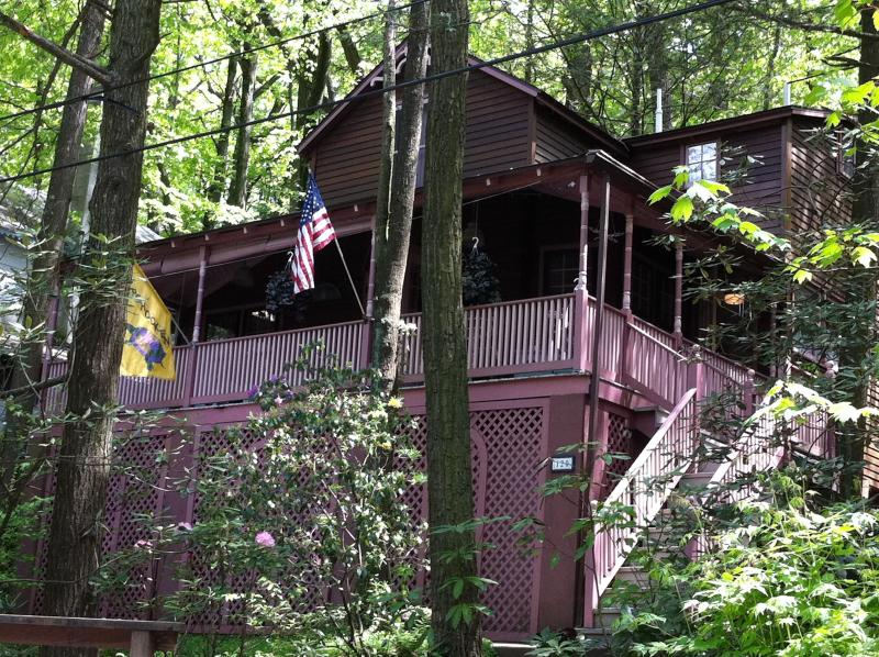 Street View of the Cottage - Mount Gretna Cottage Near Playhouse Chatuqua - Mount Gretna - rentals