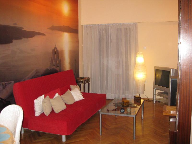 Santorini Living Room - Athens City Apartment 1, central Athens. - Athens - rentals