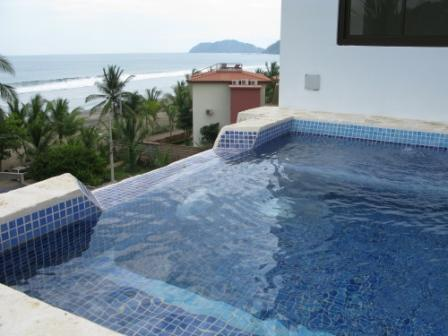 Jacuzzi facing the beatiful view of the ocean - Jaco Tranquilo B - Jaco - rentals