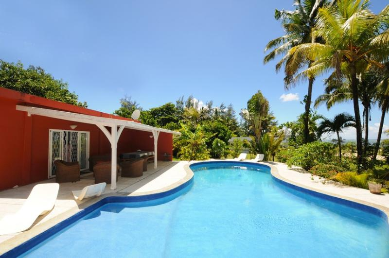 Villa Philibert, with pool on the beach; - Image 1 - Riambel - rentals