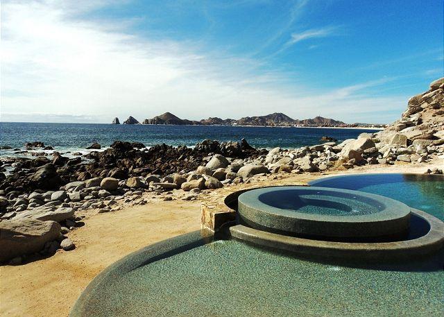 View from Terrace - Casa Luna -Oceanfront 5BD/5.5BA, Arch View - Cabo San Lucas - rentals
