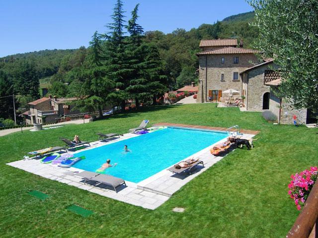 Villa Piera - Image 1 - Caprese Michelangelo - rentals