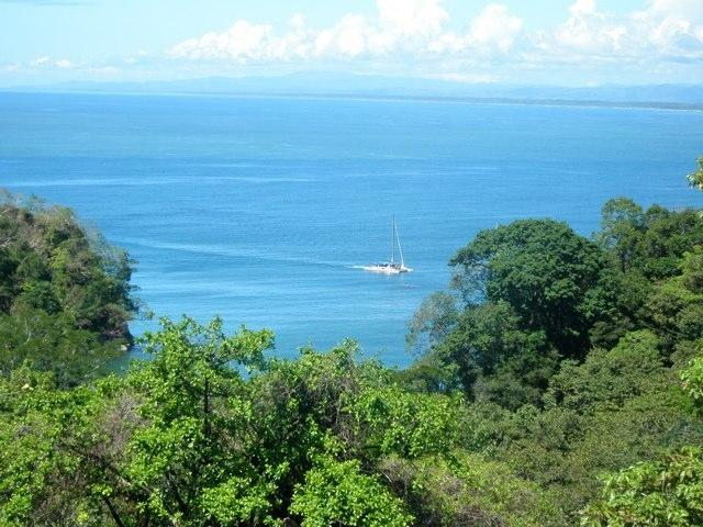 Dramatic ocean view from main balcony - Luxurious Condo with Breath-Taking Ocean Views! - Manuel Antonio National Park - rentals