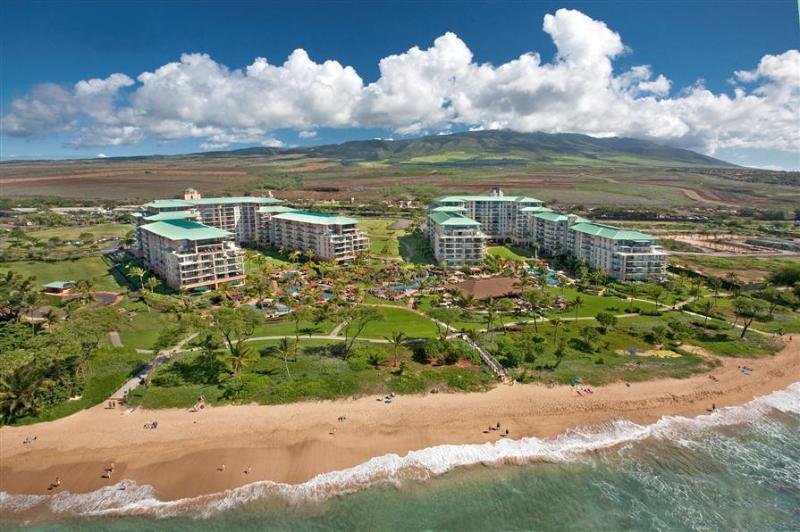 Beautiful Honua Kai Resort from the sky! - Honua Kai -Luxurious Ocean View Resort #H 208 - Ka'anapali - rentals