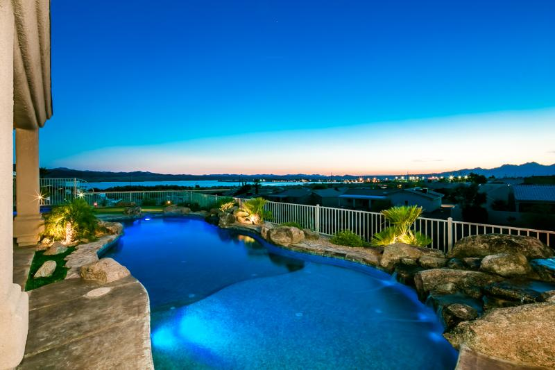 Best View in Havasu! Luxury Home with Pool & Spa - Image 1 - Lake Havasu City - rentals