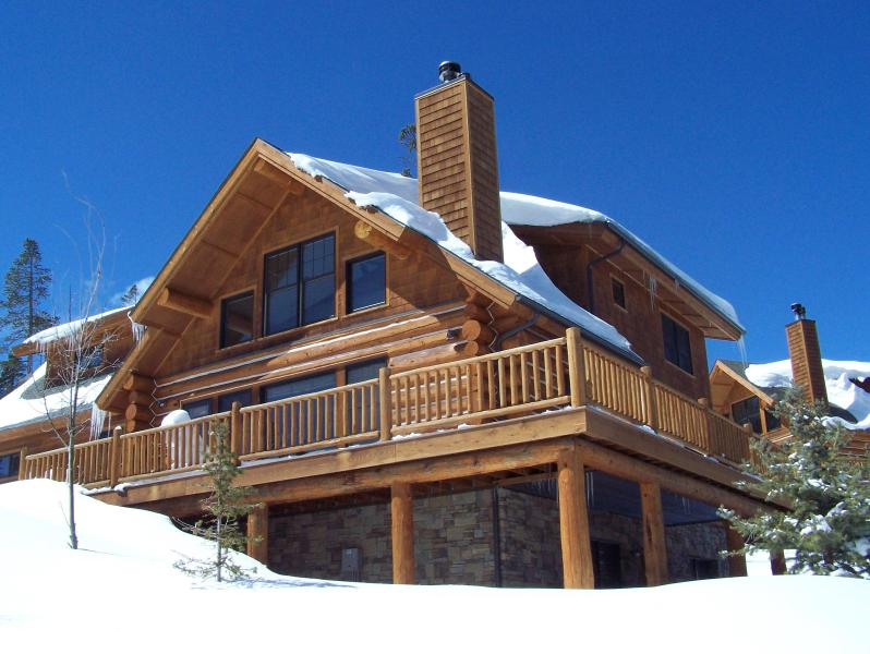 Powder Ridge 128 in Winter - Big Sky Cabin Luxury Ski In/Ski Out - 5 Bed/4 bath - Big Sky - rentals