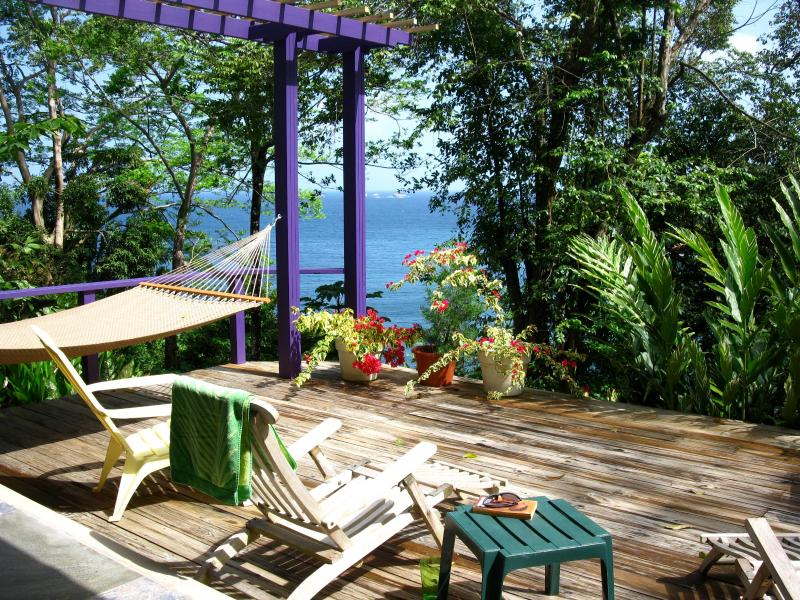 Sun Deck - Coasting Villa - Beautiful, Intimate, Waterfront - Tobago - rentals