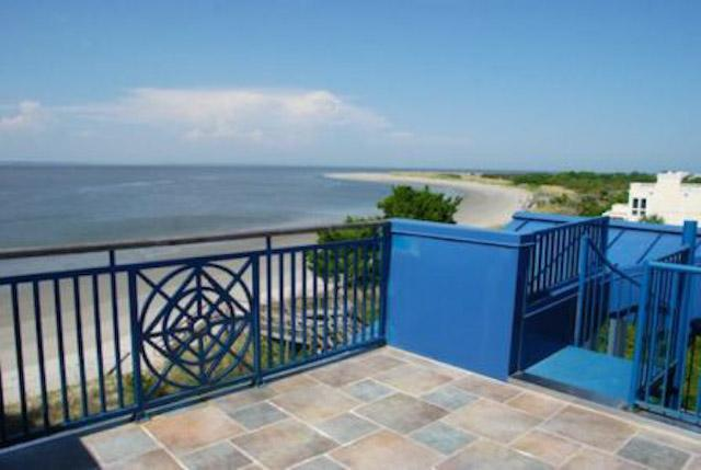 rooftop deck with oceanfront views - Stairway To Heaven - prices listed may not be accurate - Tybee Island - rentals