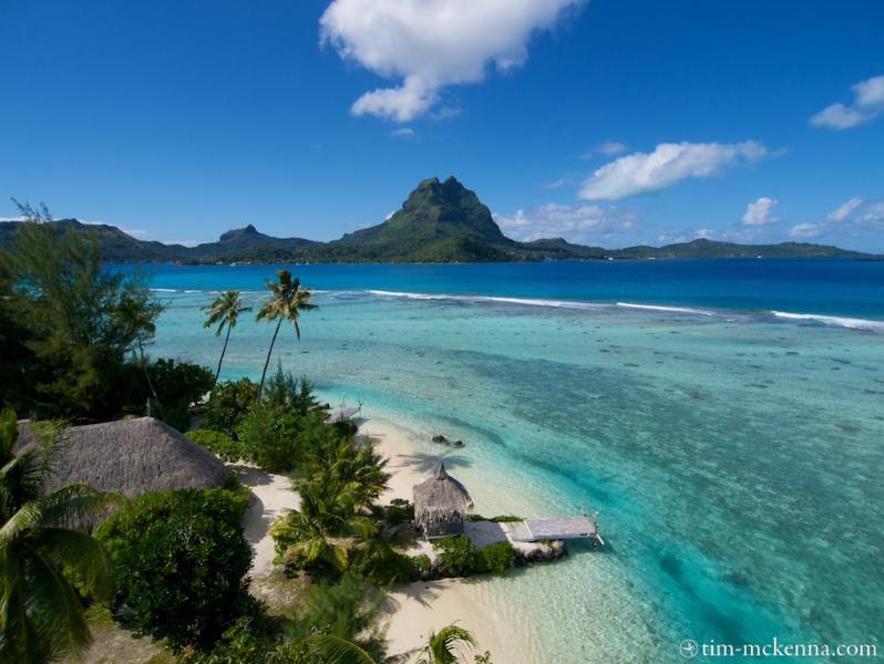Villa Ahuna the Unique Paradise on Bora Bora - Image 1 - Vaitape - rentals