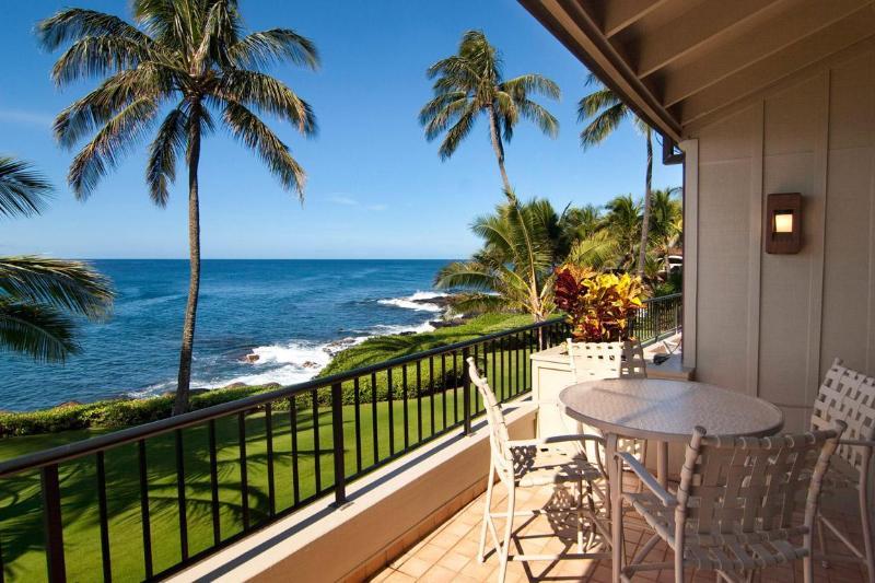 Ocean Front Luxury - Whalers Cove 2 Bedroom Ocean Front Poipu - Poipu - rentals