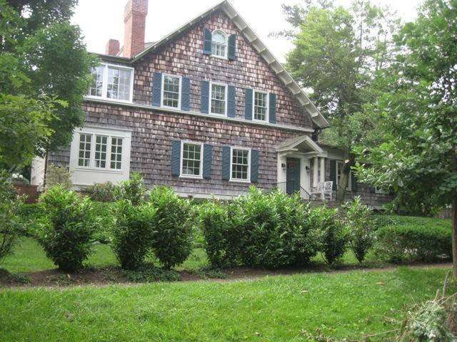 Front of the house - Historic Chevy Chase Village Summer rental - Washington DC - rentals