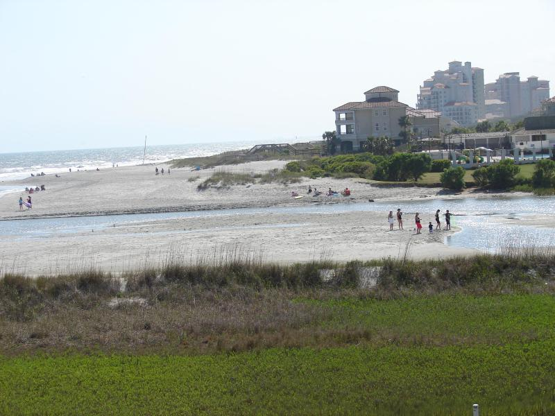 View from the Balcony - Best View On The Beach- Amazing Pet-Friendly Myrtle Beach Rental with WiFi - Myrtle Beach - rentals