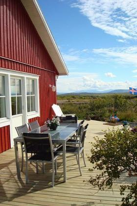 Beautiful summerhouse with a  fantastic view near the glacier Snæfellsjökull - Image 1 - Borgarnes - rentals