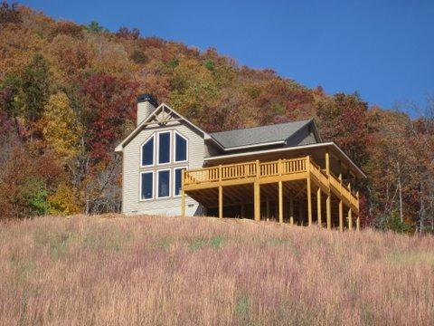 And this is not even Peak Color! - Great Mountain Retreat! Incredible Views! Hot Tub! - Franklin - rentals