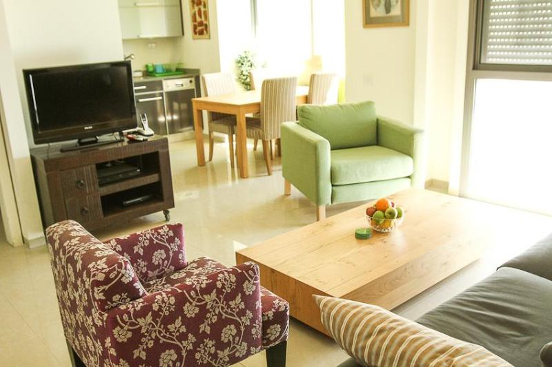 Living room - Amazing Brand New Kosher Apartment! Top Location! - Jerusalem - rentals