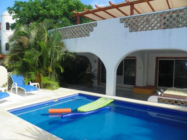 Casa Tucan Front with swimming pool and 2 large terraces - $ 29 p/p Gorgeous Private Home w/pool by Yalku/HMB - Akumal - rentals
