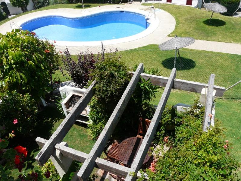 community pool - Central House in Tarifa, Spain with pool - Tarifa - rentals
