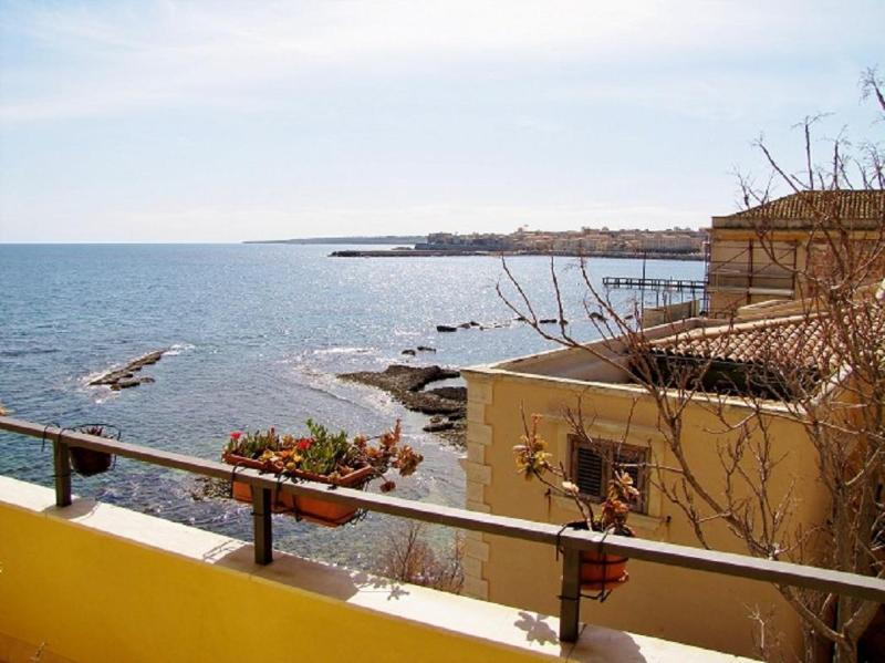 Balcony - Stella Sul Mare -Spectacular VIEWS of the SEA - Syracuse - rentals