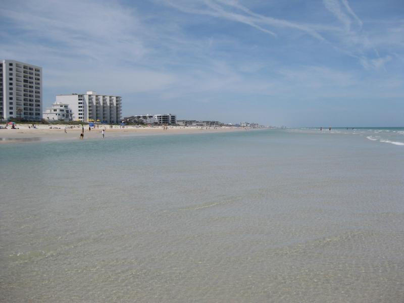 beautiful wide white sandy beach - SPRING BREAK  DEAL APRIL 11th-May 2nd     $600/WK - New Smyrna Beach - rentals