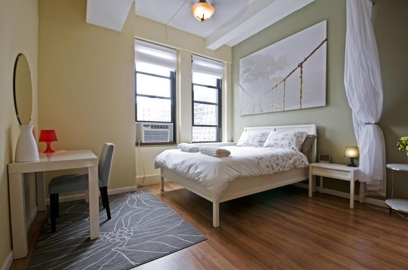 Bed - Spacious Studio Loft in Chelsea ! - New York City - rentals
