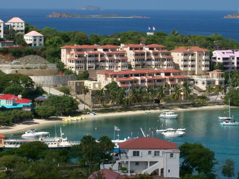 Grande Bay Resort sets on Cruz Bay. Convenient  to everything. - Cruz Bay/ Grande Bay 1B1B named Sunsets & Breezes - Cruz Bay - rentals