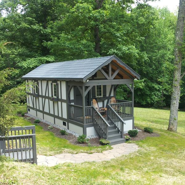 European style cabin in the heart of horse country - Image 1 - Tryon - rentals