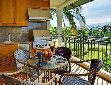 "Kolea Villa  - Lanai Dining with Outdoor BBQ/Kitchen - Kolea Villa ~ ""Tropical Sky"" - Waikoloa - rentals"