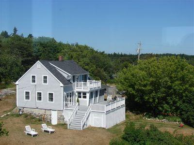 Casco Bay Cottage - Ocean views from every bedroom - Phippsburg - rentals