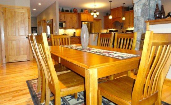 Dining Room - Riverbend Townhome - Lake Placid - rentals