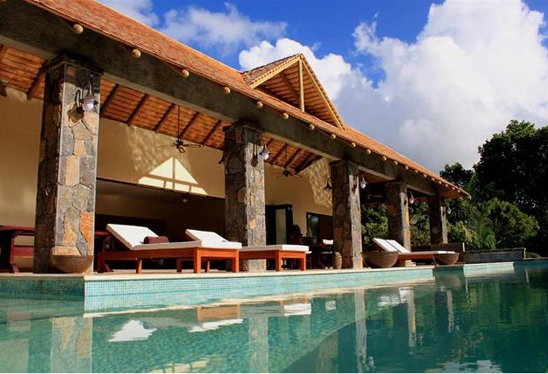 Villa Alize from the Pool. - 2 Bedroom Mountain Villa - Chamarel, Mauritius - Chamarel - rentals