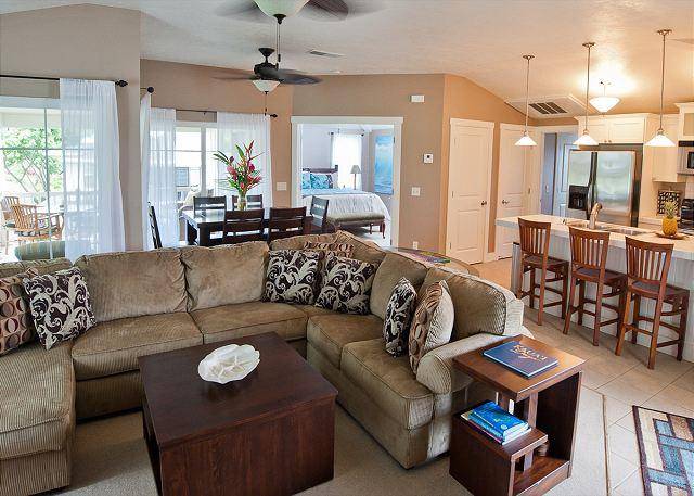 Beautifully Decorated, Spacious Condo with A/C - Image 1 - Princeville - rentals