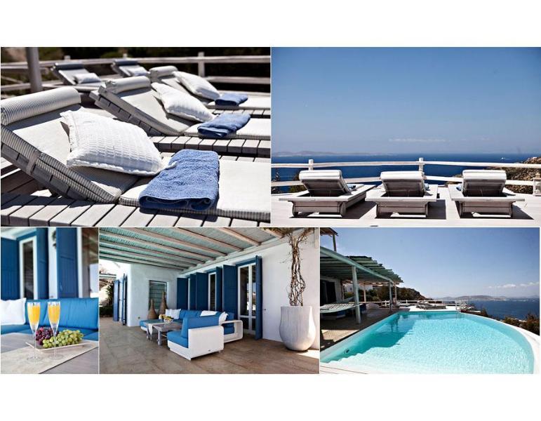 Mykonos ,Breathtaking view, 6-bedroom Luxury Villa - Image 1 - Mykonos - rentals